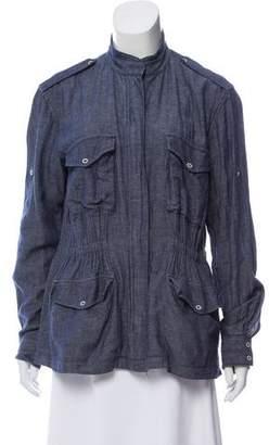 Rag & Bone Lightweight Trompe L'oeil Denim Jacket