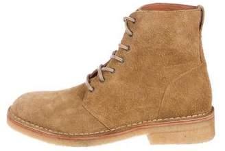 Rag & Bone Military Suede Boots