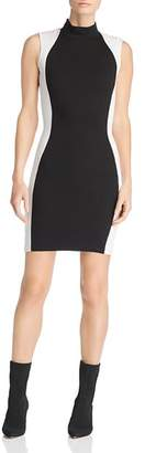 KENDALL + KYLIE Color-Block Illusion Sheath Dress