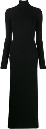 Marcelo Burlon County of Milan roll neck sweater dress