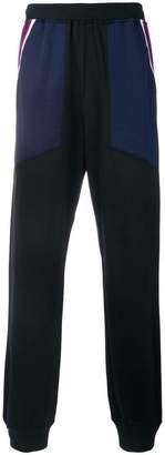 Facetasm side stripe track pants