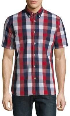 Brooks Brothers Yarn-Dye Plaid Broadcloth Shirt