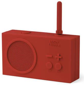 Lexon NEW Tykho 2 Rechargeable Radio Red
