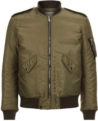 Saint Laurent Traditional Bomber Jacket