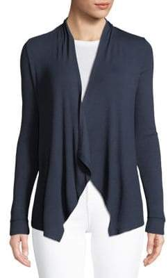 INC International Concepts Open Front Rib Cardigan