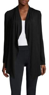 Andrew Marc Performance Classic Open Cardigan