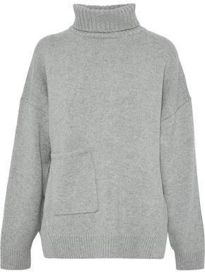 Tibi Oversized Cashmere Turtleneck Sweater
