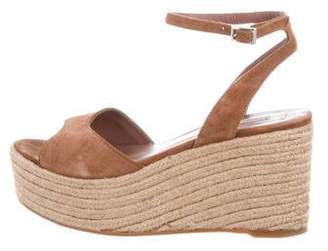 Tabitha Simmons Suede Platform Wedges