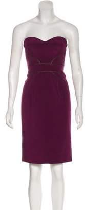 Zac Posen Strapless Mini Dress