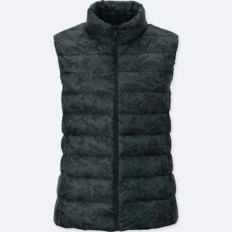 Uniqlo Women's Ultra Light Down Puffer Printed Vest
