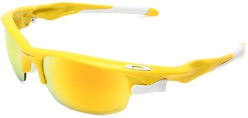 Oakley Men's Fast Jacket Non-Polarized Oval Sunglasses