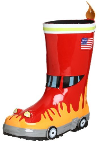 Kidorable Fireman Rain Boot (Toddler/Little Kid)