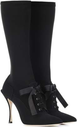 Dolce & Gabbana Stretch-knit boots