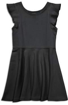 Polo Ralph Lauren Girls' Ruffled Ponte Dress - Little Kid