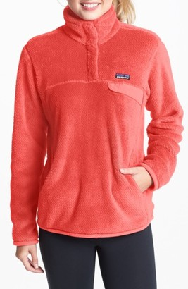 Women's Patagonia 'Re-Tool' Snap Pullover $119 thestylecure.com