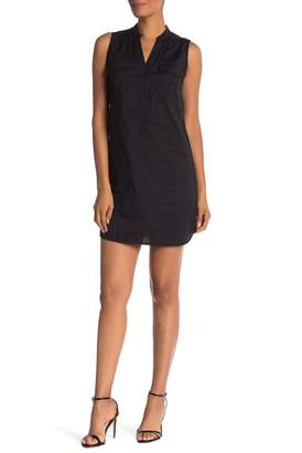 Trina Turk Hesper Sleeveless Front Button Dress