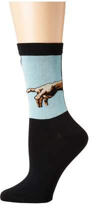 Socksmith Creation of Adam Women's Crew Cut Socks Shoes