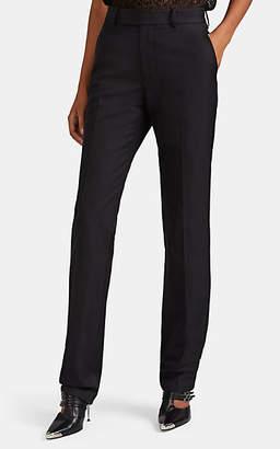 Helmut Lang Women's Cotton-Blend Twill Straight Trousers - Black