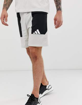 adidas Training pack short in grey