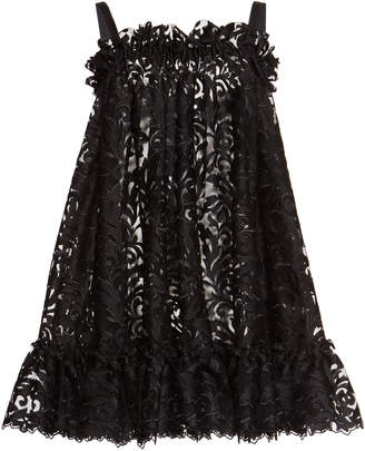 Dolce & Gabbana Lace And Tulle A-Line Dress