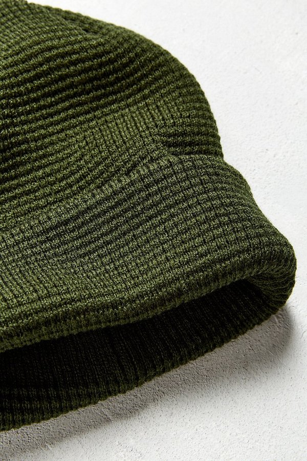 Urban Outfitters UO Waffle Beanie 3