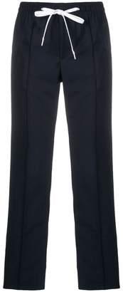 Miu Miu side-stripe drawstring trousers