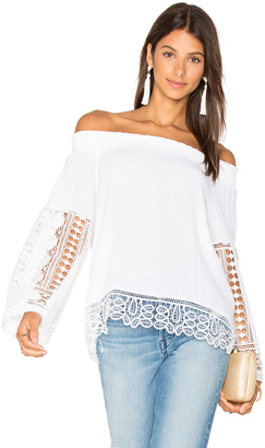 RAMY BROOK Lynsey Top $295 thestylecure.com