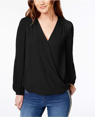 INC International Concepts I.n.c. Surplice Top, Created for Macy's