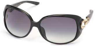 Christian Dior (クリスチャン ディオール) - Dior リングジョイント アイウエア フレーム:ブラック レンズ:グレーグラデーション 61