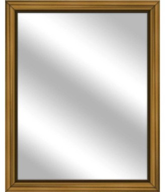 PTM Images Vanity Mirror, Antique Gold, 25x31