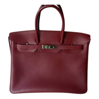 Hermes Red Leather Tote Bags - ShopStyle 99dc67845ff3f