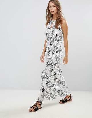 Vila Printed Maxi Dress
