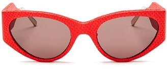 Salvatore Ferragamo Women's Runway Cat Eye Sunglasses, 54mm