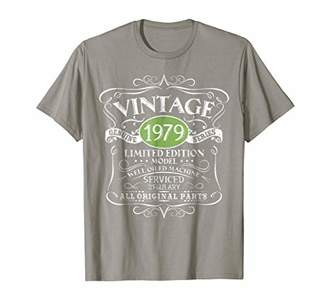 Vintage 1979 40th Birthday All Original Parts Gift T-Shirt