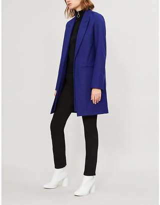 Rag & Bone Kaye single-breasted wool-blend coat