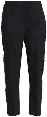 Markus Lupfer Pinstriped Wool-Blend Tapered Pants