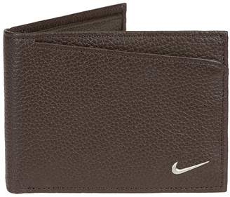 Nike Men's Leather Passcase Wallet