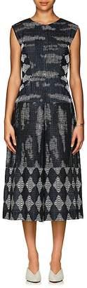 Zero Maria Cornejo Women's Zowie Geometric-Pattern Wide-Leg Jumpsuit