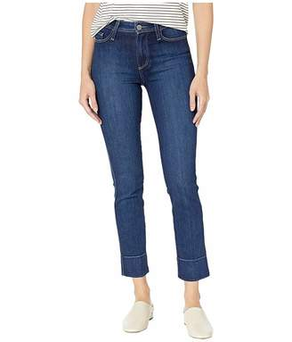 Paige Hoxton Slim Jeans w/ Blind Stitch in Amber