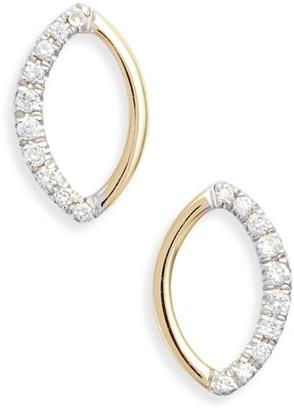 Bony Levy Two-Tone Diamond Earrings
