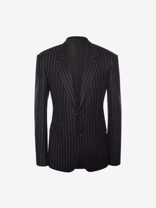 Alexander McQueen Pinstripe Tailored Jacket