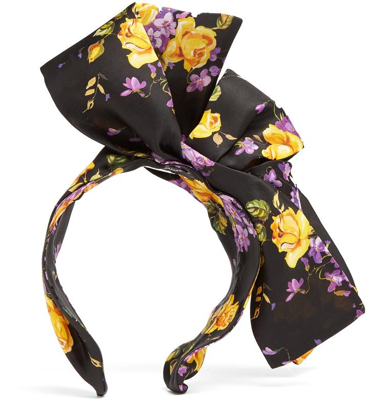 Dolce & GabbanaDOLCE & GABBANA Floral-print headband