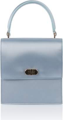 1c297e166c07 Neely   Chloe Mini Blue Satin Lady Bag