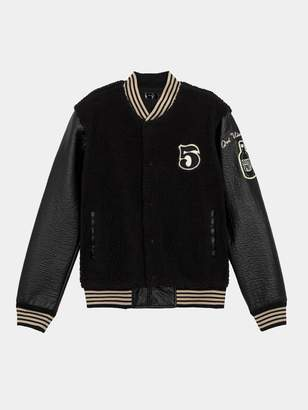 Mother The Letterman Snap Jacket - Earning A Passing Grade