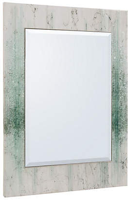 John-Richard Collection Mary Oversize Wall Mirror - White/Green