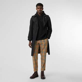 Burberry Vintage Check Cotton Trousers