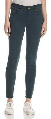 True Religion Jennie Curvy Skinny Jeans in Hunter Green