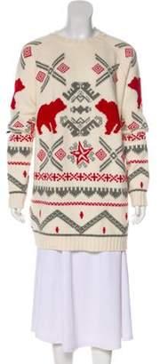 Stella McCartney Wool Knit Sweater Multicolor Wool Knit Sweater
