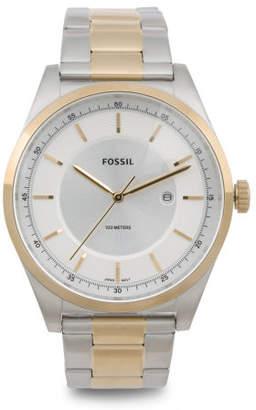Men's Mathis Two Tone Bracelet Watch