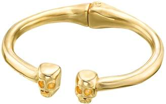 Uno de 50 Are You Talking To Me? Gold Plated Open Cuff Bracelet